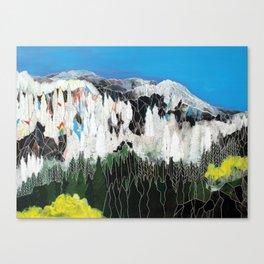 The Snow Line Canvas Print