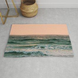 Pink Skies Ocean Vibes Rug