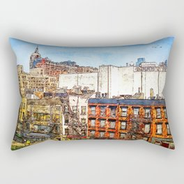22nd & 8th, NYC Rectangular Pillow