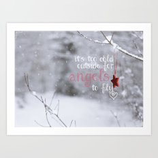 Angels Art Print