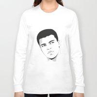 ali gulec Long Sleeve T-shirts featuring Ali II by Renan Lacerda