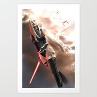 sith Art Prints featuring Sith by R.Atkins