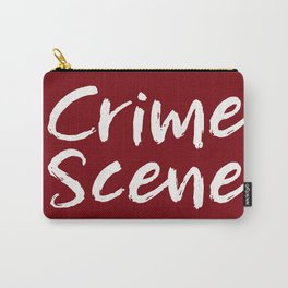 Crime Scene - Red Carry-All Pouch