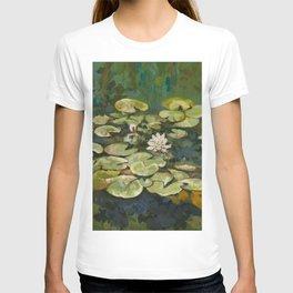 Lotus Pond Serenity Series I T-shirt