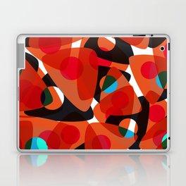 orange 70s Laptop & iPad Skin