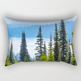 Alpine Lake Rectangular Pillow