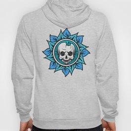 skull of the flower Hoody