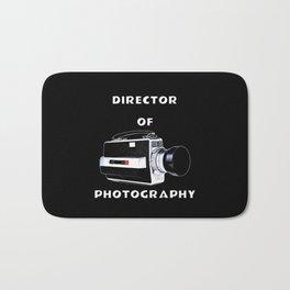 Director Of Photography Bath Mat