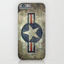 Vintage USAF Roundel #2 iPhone Case