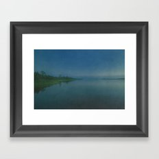 Cape Fear River Rolling on Past Just the Same Framed Art Print