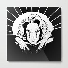 Miss Fame Metal Print