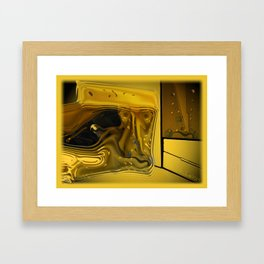 Compartmental Framed Art Print