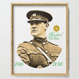 Michael Collins 1916-2016 Serving Tray