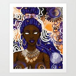 Ezili Art Print