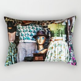 Vintage Fashion Rectangular Pillow