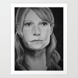 You're All I Have, Too - Pepper Potts Art Print