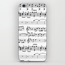 Musical iPhone Skin