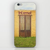 internet iPhone & iPod Skins featuring Internet by Nina's clicks