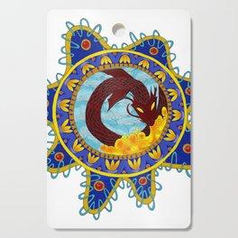Red Dragon Emblem Cutting Board