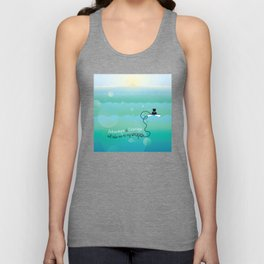 Adventurous Cat Unisex Tank Top