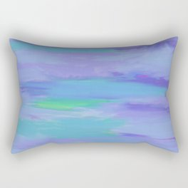 Alien Cool Colors Rectangular Pillow
