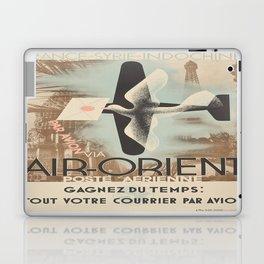 Vintage poster - Air-Orient Laptop & iPad Skin