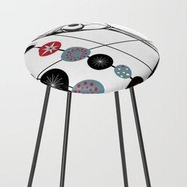 Mid-Century Modern Art Atomic Cocktail 3.0 Counter Stool