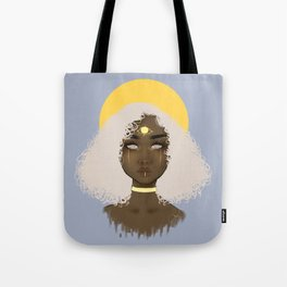 Cloudy Baby Tote Bag