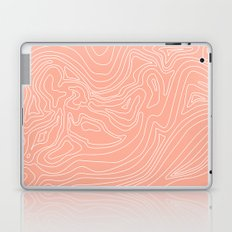 Ocean depth map - coral Laptop & iPad Skin