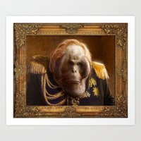 general Art Prints featuring General by Fabio Leone