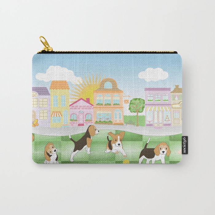 Beagles Carry-All Pouch