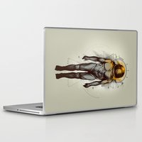 naked Laptop & iPad Skins featuring Naked Space by Azrhon