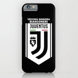 Slogan: Juve iPhone Case
