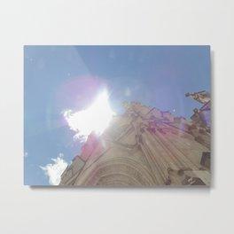 La Basílica del Sagrado Voto Nacional, Dos Metal Print