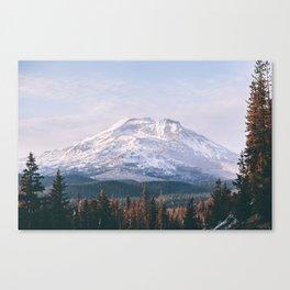 South Sister Canvas Print