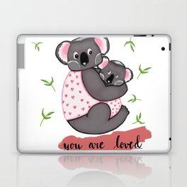 Cute Koalas in jackets Laptop & iPad Skin
