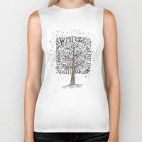 tree of life Biker Tanks featuring Tree of Life by Matthew Taylor Wilson