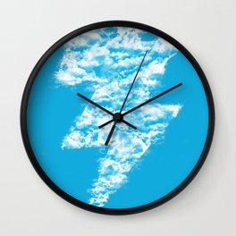 Lightning Peace Wall Clock