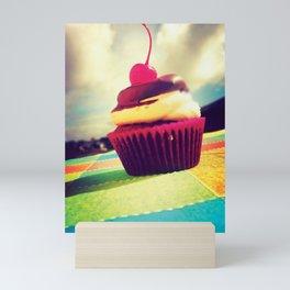 Colorful Cupcake Mini Art Print