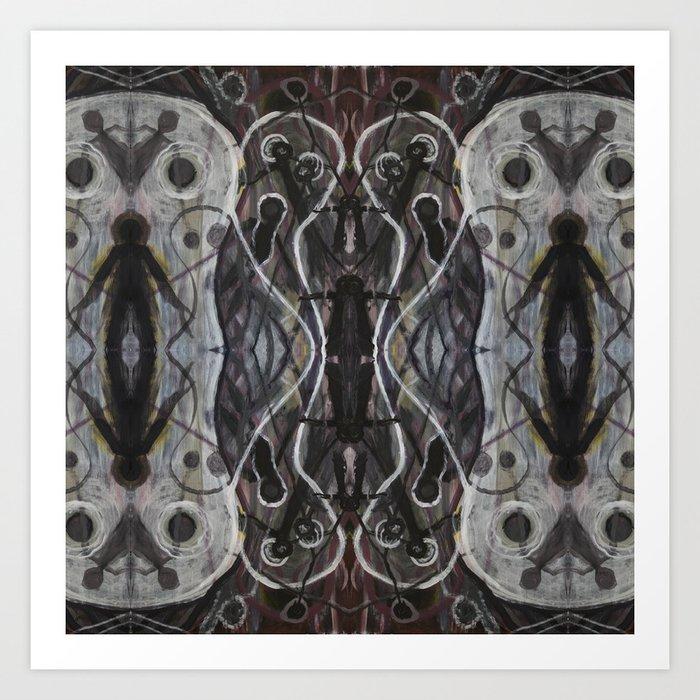 Ghosts Emerging Art Print