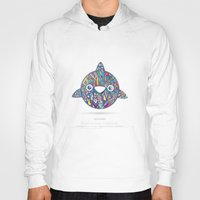 dolphin Hoodies featuring Dolphin by Narek Gyulumyan