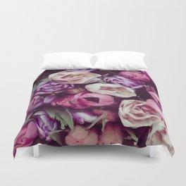 magnificent painted flowers Duvet Cover