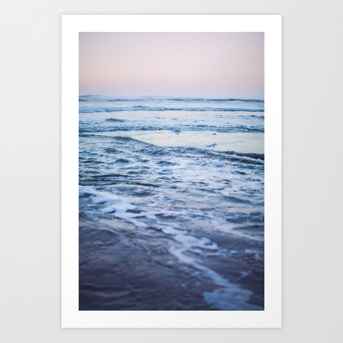 Pacific Ocean Waves Art Print By Floresimagespdx Society6