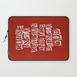House Is My Religion Laptop Sleeve