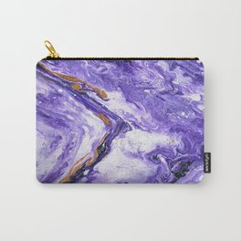 Chevron Amethyst 1 Carry-All Pouch