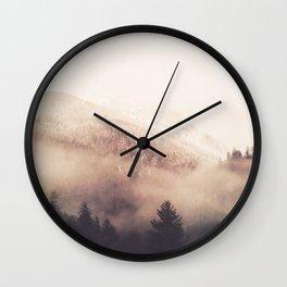 Waking to Wisdom - Nature Photography Wall Clock