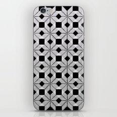 Silver Snow iPhone & iPod Skin