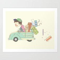 vacation Art Print