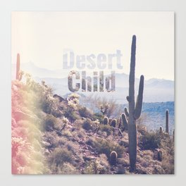 Desert Child Canvas Print