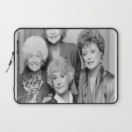 the Golden Girls actress BETTY WHITE with Beatrice BEA Arthur photo Laptop Sleeve